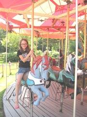 8.8.11 VT carousel the VT dinner Lily
