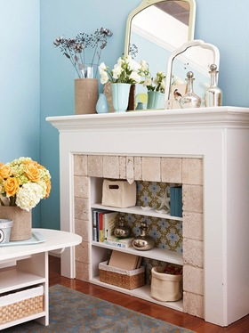 bhg- fireplace storage