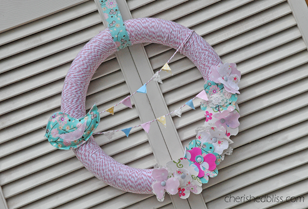 Spring Wreath 3