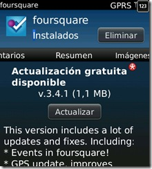Foursquare-Actualizacion