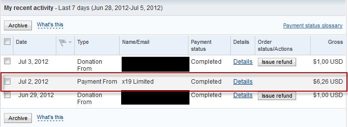 Bukti Pembayaran Adf.ly (Pembayaran Ketujuh)