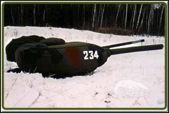 Russie une armée gonflable-3