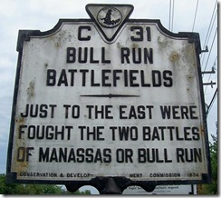 Bull Run Battlefields, Marker C-31  Prince William Co., VA