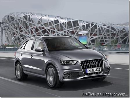 Audi Q3 - Front Angle4