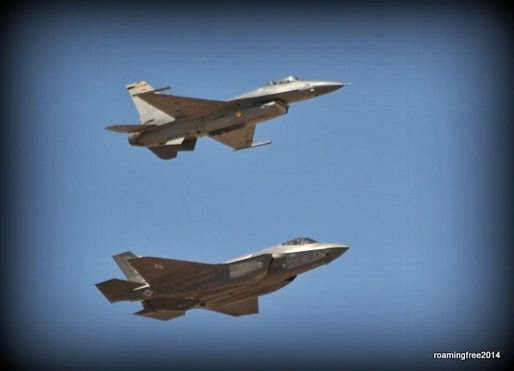 F-16 and F-35 Fighter Jets