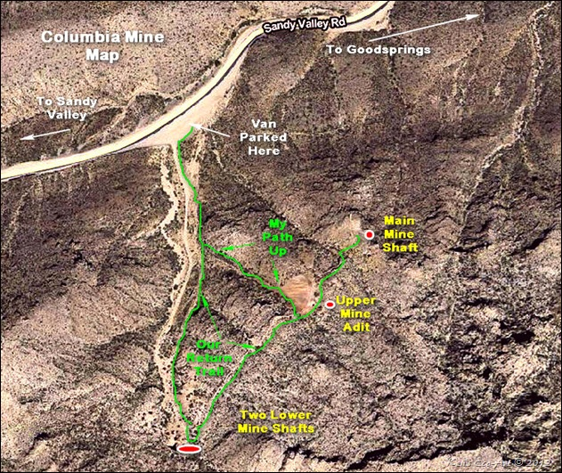 MAP-Columbia Mine
