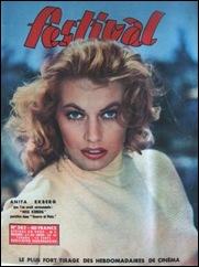 Anita Ekberg #43 - Mag. Cover