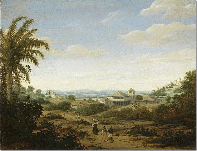627px-Frans_Post_-_'Landscape_by_the_river_Senhor_de_Engenho,_Brazil'