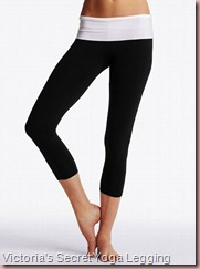 Yoga Foldover Crop Legging