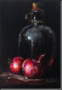 Red Onions and Bottle 7x5_1