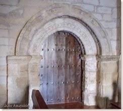 Iglesia de la Asunción - Villatuerta - Portada románica de la ermita de San Román