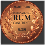 2014-Bronze-III Congreso Internacional del Ron de Madrid