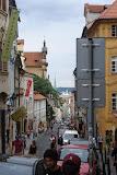 View down Nerudova St