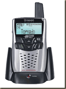 WR602 Oregon Scientific Portable Public Alert Weather Radio with SAME Latest Model