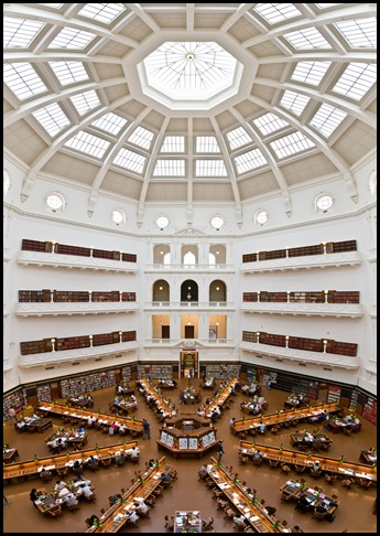 State Library, Victoria, Australie 01