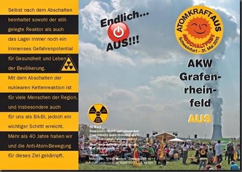 Flyer Abschaltfest 1 Entwurf Werner Enke, Klick zum Vergrößern