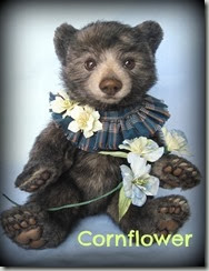 corn flowers tag