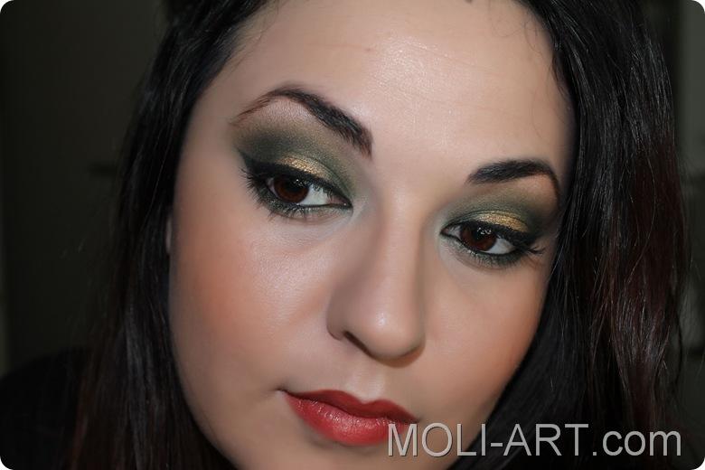 maquillaje-verde-y-dorado-look-humid-mac