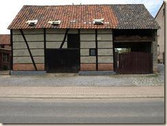 Guigoven, Brandstraat: schuur in vakwerk