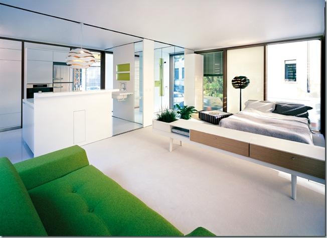 Werner Aisslinger - LoftCube/ Mailand/ Interior / Räume