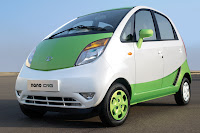 Tata promoted this Nano CNG concept car at this month's New Delhi Auto Expo 2012