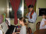 Bethanie and Joe playing for Christmas
