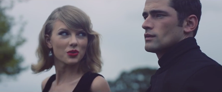 Taylor Swift, Sean O'Pry - Blank Space music video