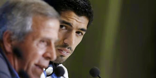 Uruguay – Tabarez : «Nous comptons sur Luis (Suarez)»