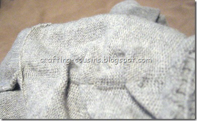 Gray Sweater Refashion (1)