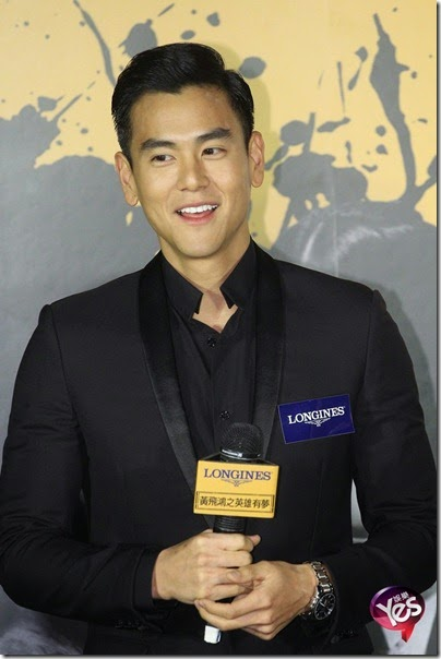 2014.11.26 Eddie Peng during Rise of the Legend - 彭于晏 黃飛鴻之英雄有夢 台北 12