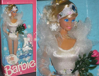 Calgary 1988 Skating Star Barbie