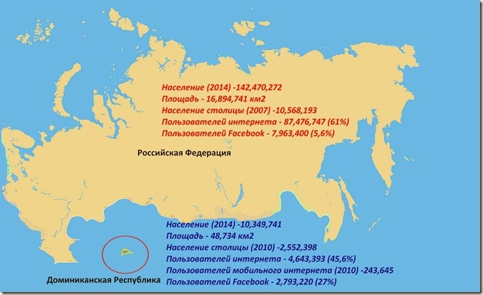 Mapa Russia Dominicana