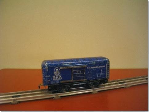 Marx 6-inch Baltimore & Ohio Boxcar