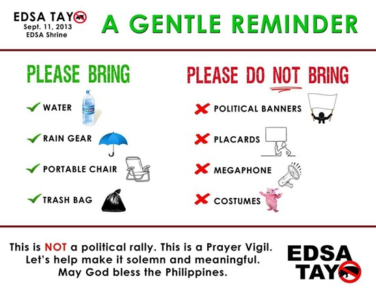 edsa tayo reminders