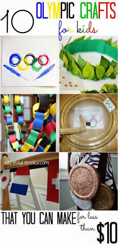 10 Olympics Crafts for Kids (that you can make for less than $10!)