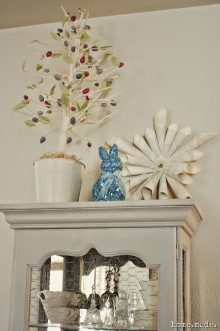 Easter Tree Vignette