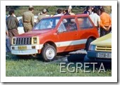 DACIA EGRETA CONCEPT CAR 1980