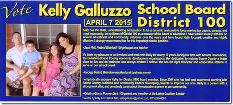 DIstrict 100 Candidate  Galluzzo 2 of 2