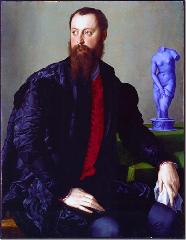 Bronzino, Portrait de Piero Antonio Bandini