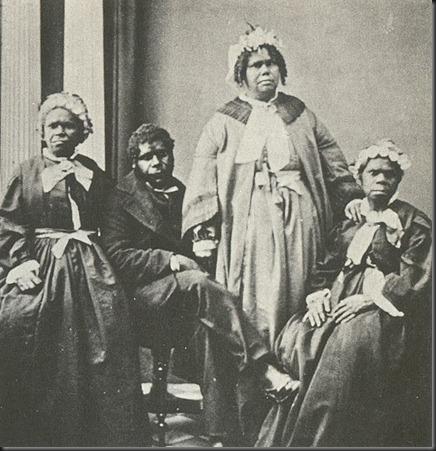 Truganini e os ltimos 4 aborigines tasmanianos
