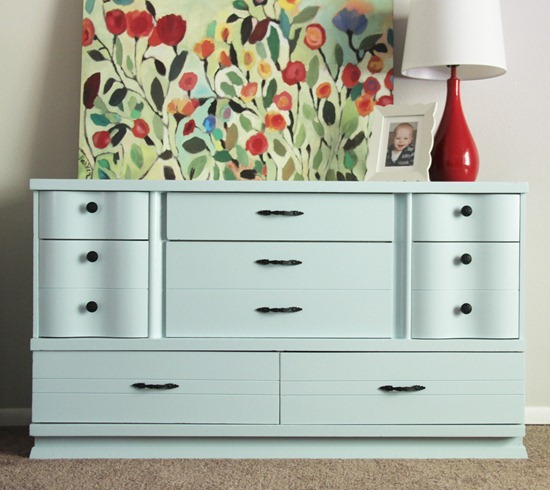 Dresser makeover - Cluck Cluck Sew