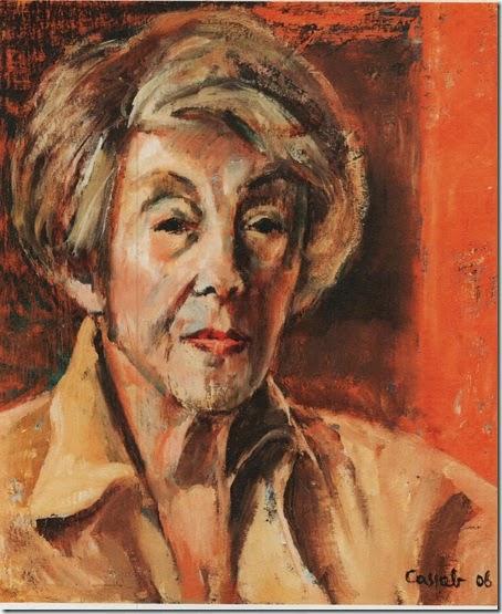 Judy Cassab self portrait