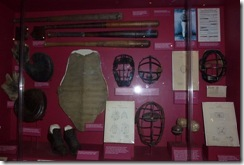 Early baseball equipment