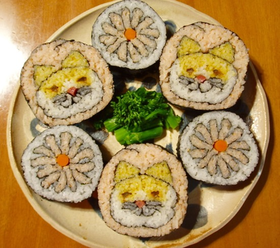 Pintura em Sushi (4)