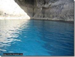 Mare di un intensissimo blu cobalto - Lampedusa