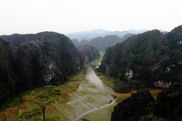 View from Hang Mua, Vietnam