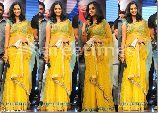 Nandita_Yellow_Net_Saree