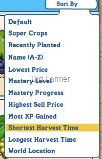 Sort Crops