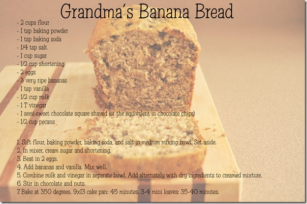 Banana Bread Recipe Card copy