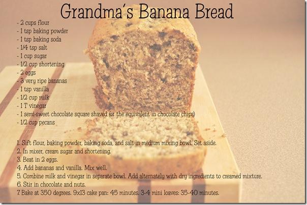 Banana Bread Recipe Card copy